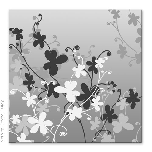 Graphical Floral abstract modern contemporary, canvas art print