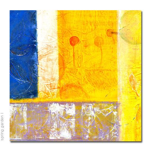 reproduction of acrylic abstract painting, giclee print, canvas
