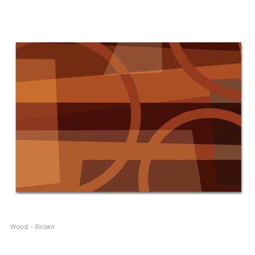 Abstract graphical shapes with different shades of colors, modern contemporary simple design.  canvas art print